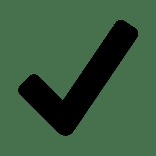 Very-Basic-Checkmark icon