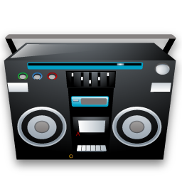 Tape recoder icon