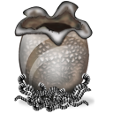 Alien egg icon