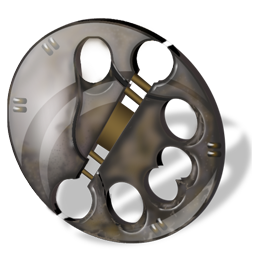 Disc predator icon