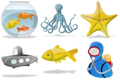 Aquatic Icons