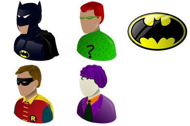 Batman Icons