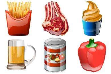Brilliant Food Icons