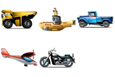 Brilliant Transportation Icons