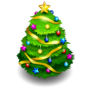 Chrismas tree icon