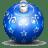 Christmas tree ball 3 icon