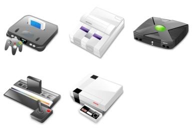 Retro Consoles Icons