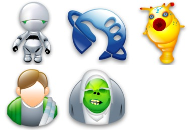 Hitchhiker's Guide to the Galaxy Icons
