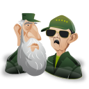 Fidel raul castro icon
