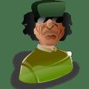 Muammar al gadhafi icon