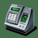 Fingerprint reader icon