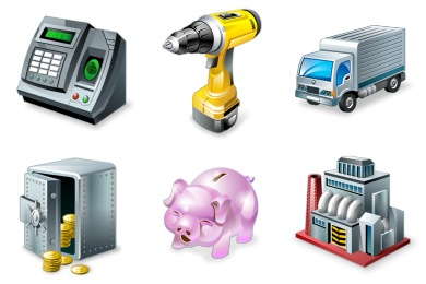 Real Vista Accounting Icons