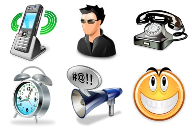 Real Vista Communications Icons