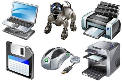 Real Vista Gadgets Icons