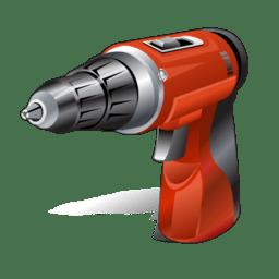 Hand driller icon