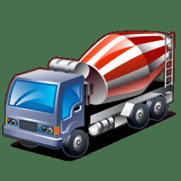Transit mixer icon