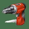 Hand-driller icon
