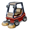 Road-sweeper icon