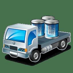 Data transport icon