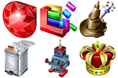 Real Vista Development Icons