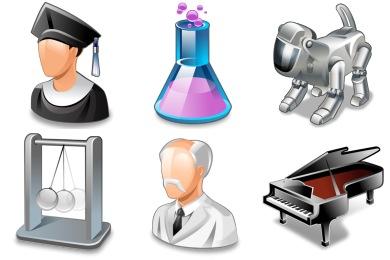 Real Vista Education Icons