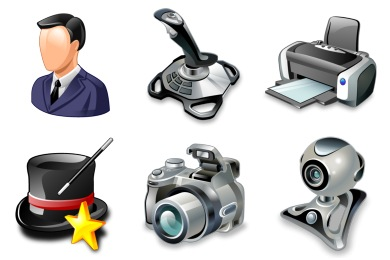 Real Vista General Icons