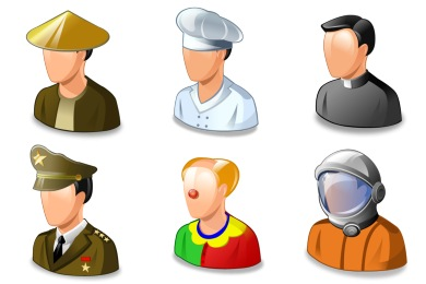 Real Vista Jobs Icons