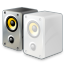 Audio left channel icon