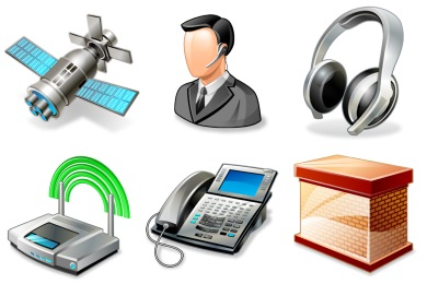 Real Vista Networking Icons