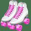 Roller skates icon