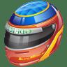 Formula-1-helmet icon