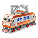 Electric locomotive icon