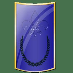 Spartan blue icon