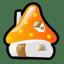 Smurf house icon
