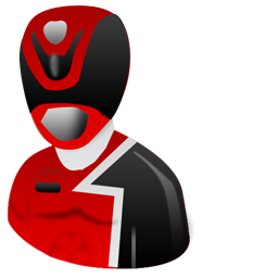 Power ranger icon