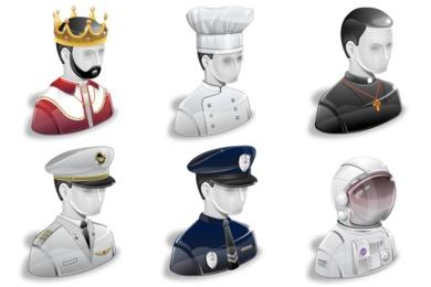 Super Vista Jobs Icons