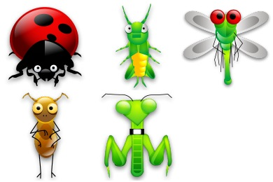 Tiny Bugs Icons