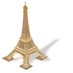 Eiffel Tower Icon World Places Iconset Iconshock