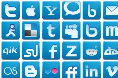 Social Media Network Icons