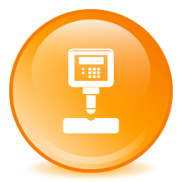 Hardness testing icon