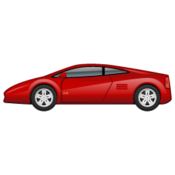 Sportscar car 2 icon