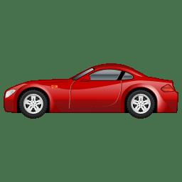 Sportscar car icon