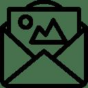 Mail-Photo icon