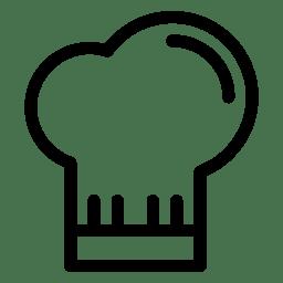 Chef Hat Icon Line Iconset Iconsmind