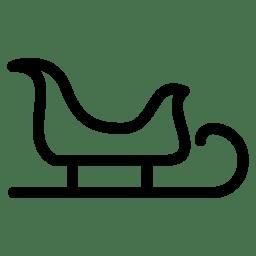 Christmas Sleigh icon