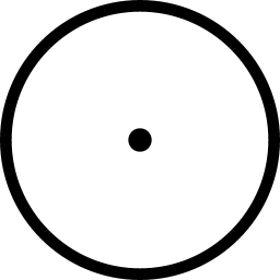 Circular Point Icon Line Iconset Iconsmind