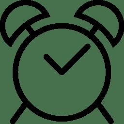 Clock Icon Line Iconset Iconsmind