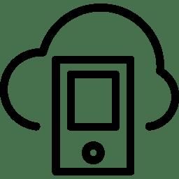 Cloud Smartphone icon