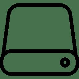 Data Storage Icon Line Iconset Iconsmind