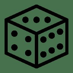 Dice 2 Icon   Line Iconset   IconsMind
